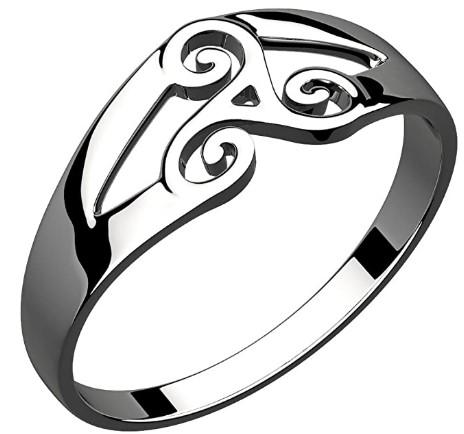 anillos celtas trisquel celta